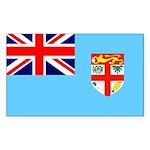 Fiji Flag Sticker (Rectangle)