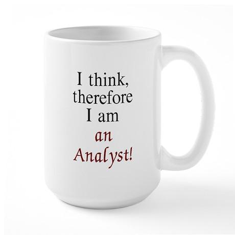 Analyst Large Mug