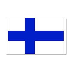 Finland Flag Car Magnet 20 x 12