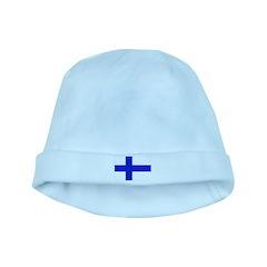 Finland Flag baby hat