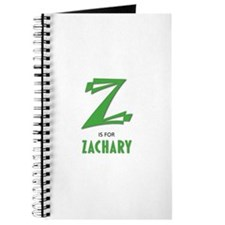 """""""Z"""" is for Zachary Journal"""