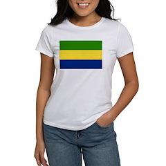 Gabon Flag Women's T-Shirt