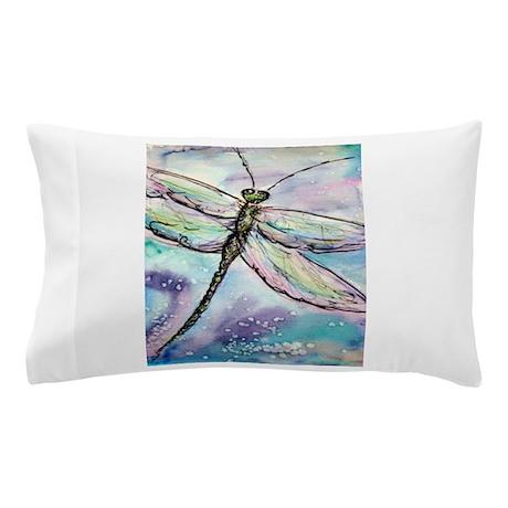 Dragonfly, beautiful, art! Pillow Case