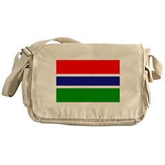 Gambia Flag Messenger Bag