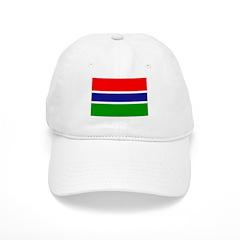 Gambia Flag Baseball Cap