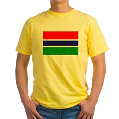 Gambia Flag T