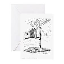 Waterpump Pen and Ink G Cards (10 Pk)