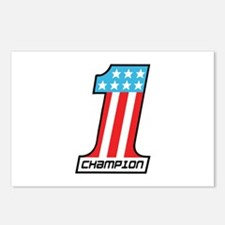 Number 1 Champion Postcards (Package of 8)