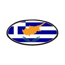 Greek Cyprus Flag Patches