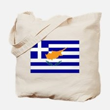 Greek Cyprus Flag Tote Bag