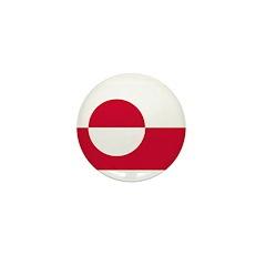 Greenland Flag Mini Button (100 pack)