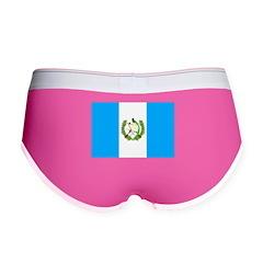Guatemala Flag Women's Boy Brief