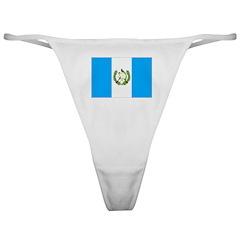 Guatemala Flag Classic Thong