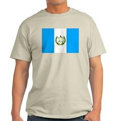 Guatemala Flag Light T-Shirt