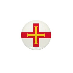 Guernsey Flag Mini Button (100 pack)