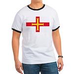 Guernsey Flag Ringer T