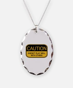 CAUTION Necklace
