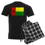 Guinea Bissau Flag Men's Dark Pajamas