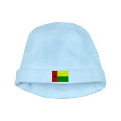 Guinea Bissau Flag baby hat