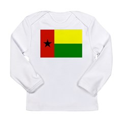 Guinea Bissau Flag Long Sleeve Infant T-Shirt