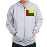 Guinea Bissau Flag Zip Hoodie