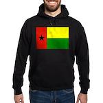 Guinea Bissau Flag Hoodie (dark)