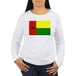 Guinea Bissau Flag Women's Long Sleeve T-Shirt