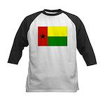 Guinea Bissau Flag Kids Baseball Jersey