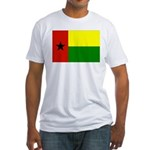 Guinea Bissau Flag Fitted T-Shirt