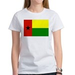 Guinea Bissau Flag Women's T-Shirt