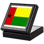 Guinea Bissau Flag Keepsake Box