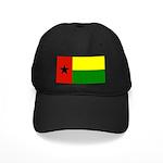 Guinea Bissau Flag Black Cap