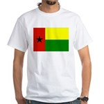 Guinea Bissau Flag White T-Shirt