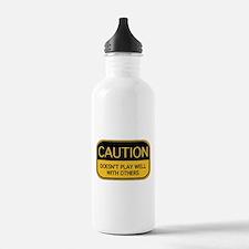 CAUTION Sports Water Bottle