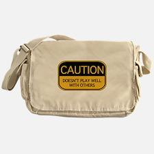 CAUTION Messenger Bag