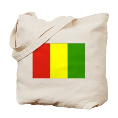 Guinea Flag Tote Bag
