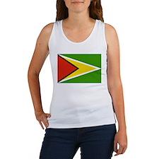 Guyana Flag Women's Tank Top