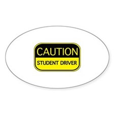 CAUTION Student Driver Decal