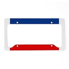 Haiti Flag License Plate Holder