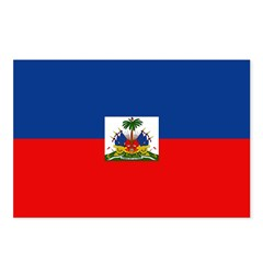 Haiti Flag Postcards (Package of 8)