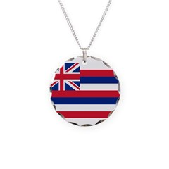 Hawaii Flag Necklace