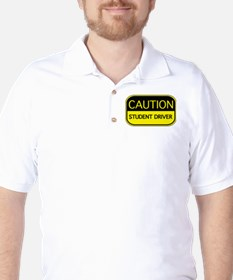 CAUTION Student Driver T-Shirt