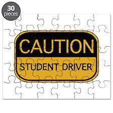 CAUTION Student Driver Puzzle