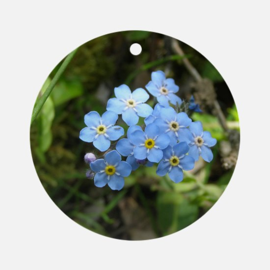 Forget-Me-Not #01 Ornament (Round)
