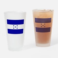 Honduras Flag Drinking Glass