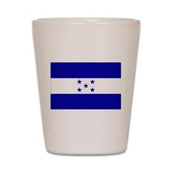 Honduras Flag Shot Glass