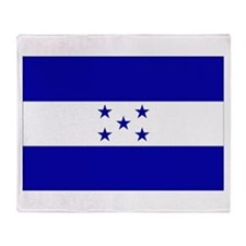 Honduras Flag Throw Blanket