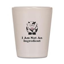 Ingredient Cow Shot Glass