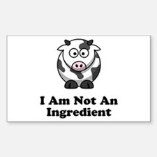 Ingredient Cow Decal