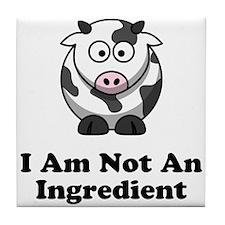 Ingredient Cow Tile Coaster